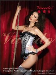 vacodo brand Queen's lingerie