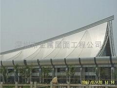 专业承接金属屋面系统、供应铝镁锰合金屋面板