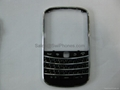 Wholesale  housing cover fascias case keyboard for Blackberry BOLD 9900