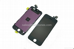 Iphone 5 lcd Compatible Front Housing LCD Touch Digitizer Screen panel Assembly  (Hot Product - 2*)