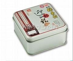 粽子铁盒,稻香村月饼盒