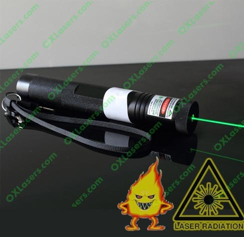 100mw Green Laser Pointer With Focusable Lens Light Maches
