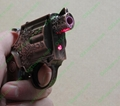 2 in 1 gun lighter with a red laser pointer FREE SHIPPING