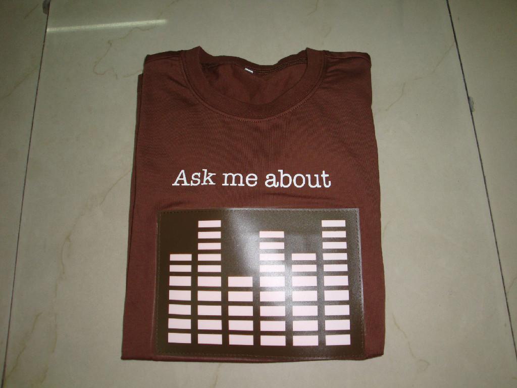LED发光T恤 1