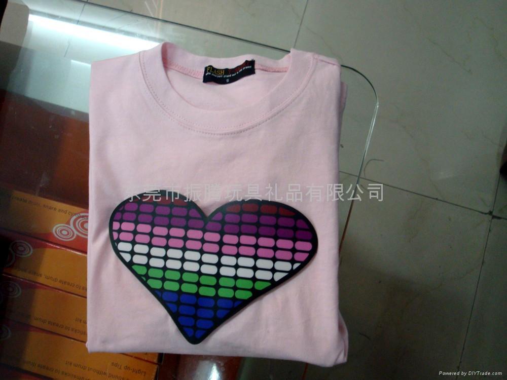 LED发光T恤 4