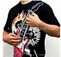 电子磁控吉他T恤