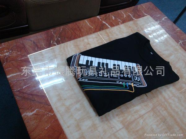 电子钢琴音乐T恤 3