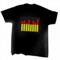 EL发光T恤