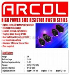 高能表面贴电阻