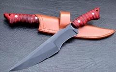 34cm length 7CR13 steel hunting knife
