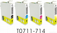 compatible ink cartridge for Epson T0711 Series