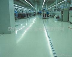 深圳厂家环氧树脂防静电地板