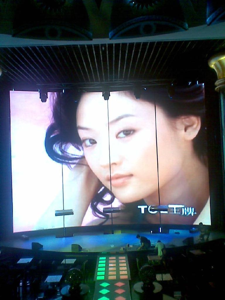 LED indoor display screen  4