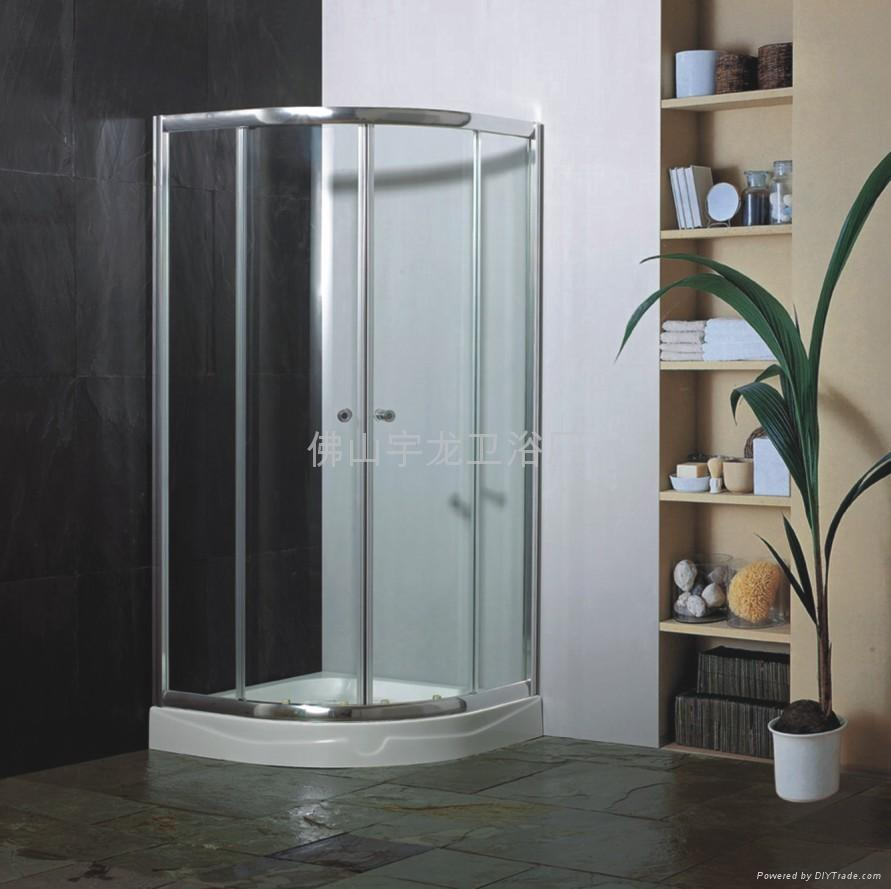 淋浴隔断一般多高