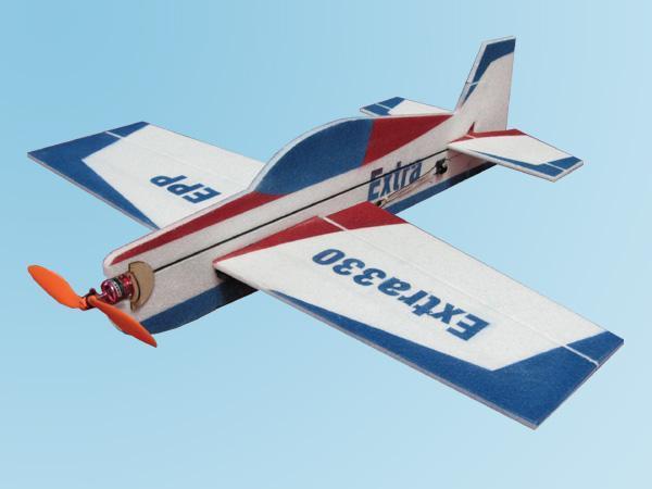 机翼使用实心平板翼型,特技动作顺畅.