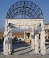 Stone gazebo
