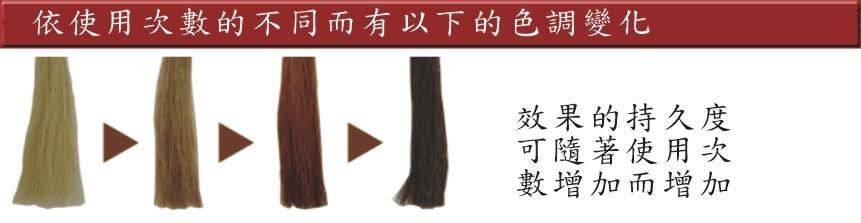 台湾梦丹佩丝四倍速银离子光染 2