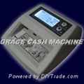 Counterfeit money detector with multiple