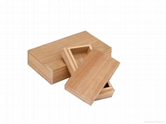 paulownia wooden box