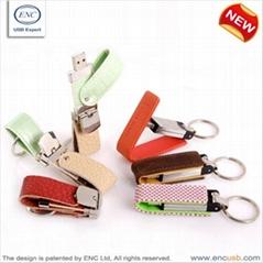 leather flash drive/memory stick