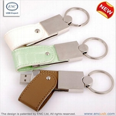 EXCLUSIVE LEATHER MEMORY STICK