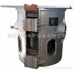 250公斤中频电炉