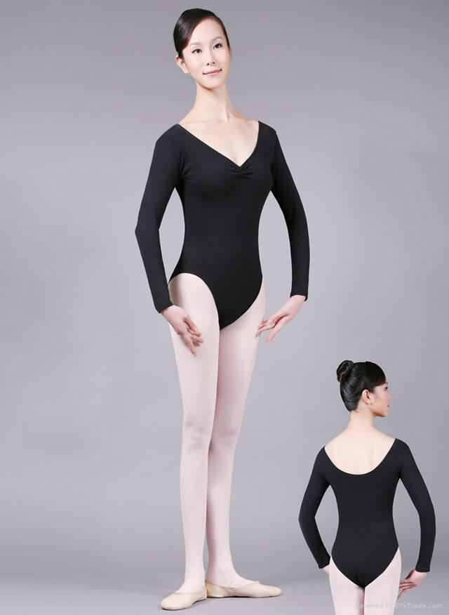 long sleeve leotard 1