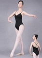 cami twist-front cross-back leotard