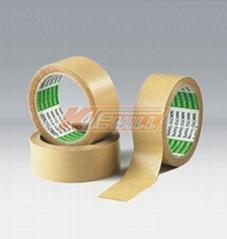 Kraft adhesive tape without water