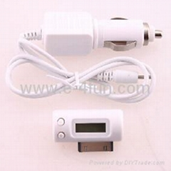 iPhone (3G) FM Transmitter with Car Charger