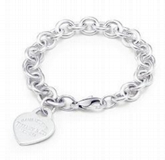 TFB083 Return to Tiffany collection heart tag bracelet