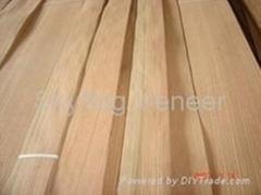 red oak veneer rift cut