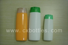 纽身形发水塑料瓶