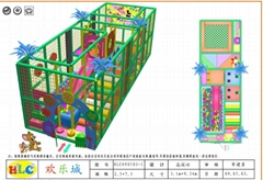 雲南昆明儿童遊樂淘氣堡