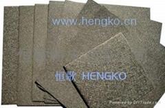 Metal sintering felt filter plate