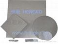 Metal sintering felt filter plate 2