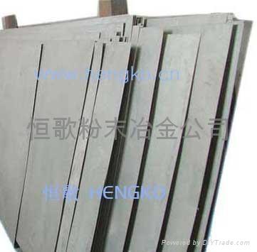Metal sintering felt filter plate 3