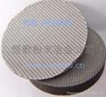 Metal sintering felt filter plate 4