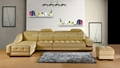 Modern leather sofa OCS-L16