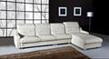 Sectional leather sofa OCS-116B