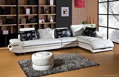 leather corner sofa OCS-L12
