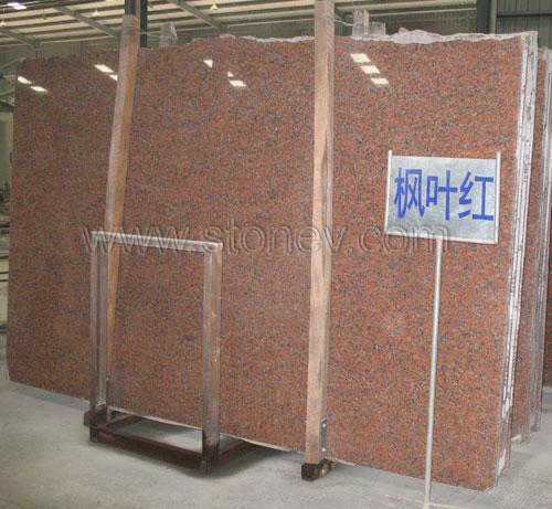 Granite G562 Maple Red Slab 1