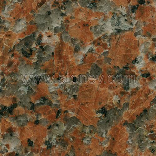 Granite G562 Maple Red Slab 2