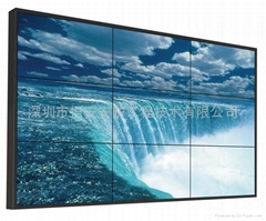 46寸高亮度超窄边液晶拼接大屏