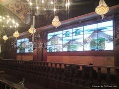 酒吧娛樂專用液晶拼接顯示大屏