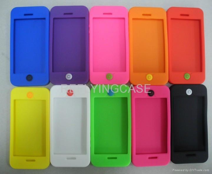 IPHONE5 硅胶保护套 3