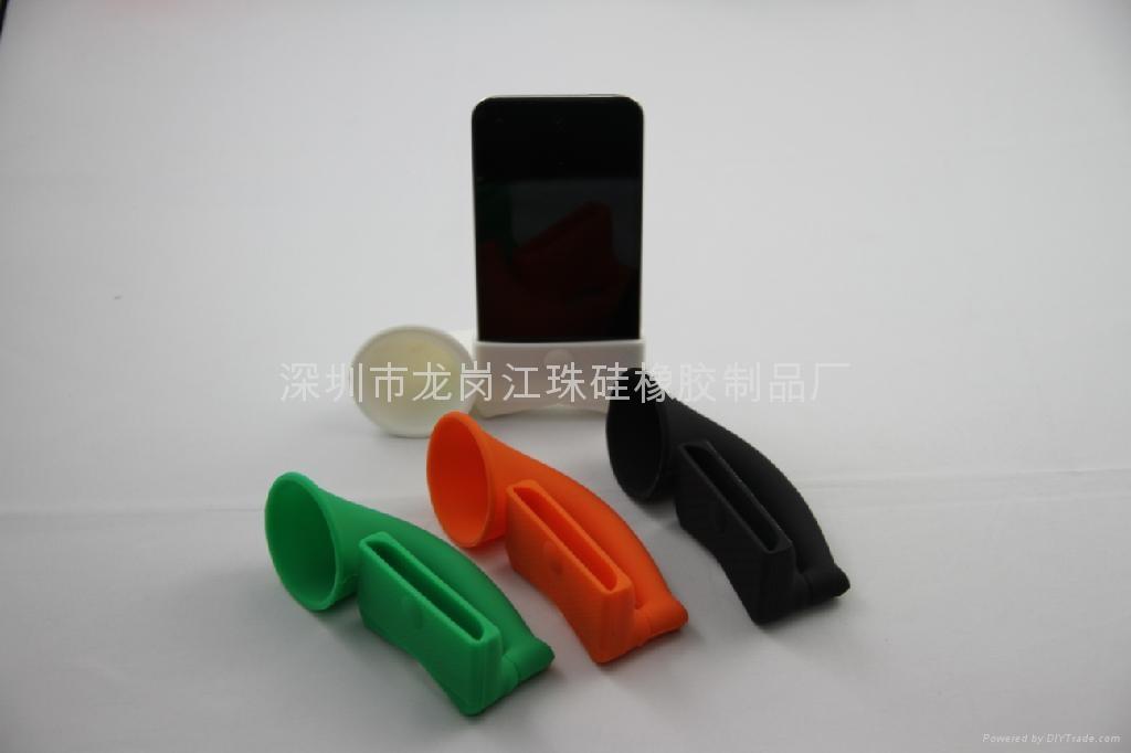 iphone硅胶扬声器 1