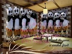 庆阳提供卡通现场功夫熊猫