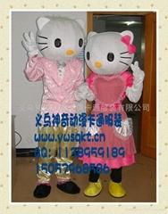供应卡通服装婚礼KT猫