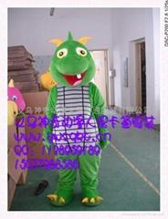 提供义乌神奇动漫人偶卡通服装新款恐龙